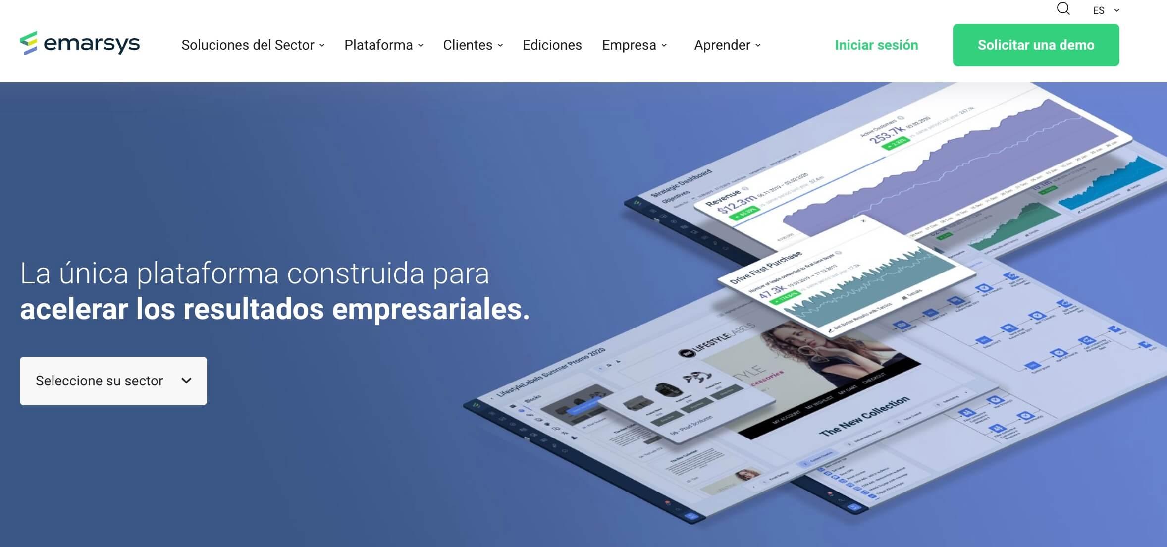 Emarsys, herramienta de gestión de clientes para medir la efectividad de la publicidad digital