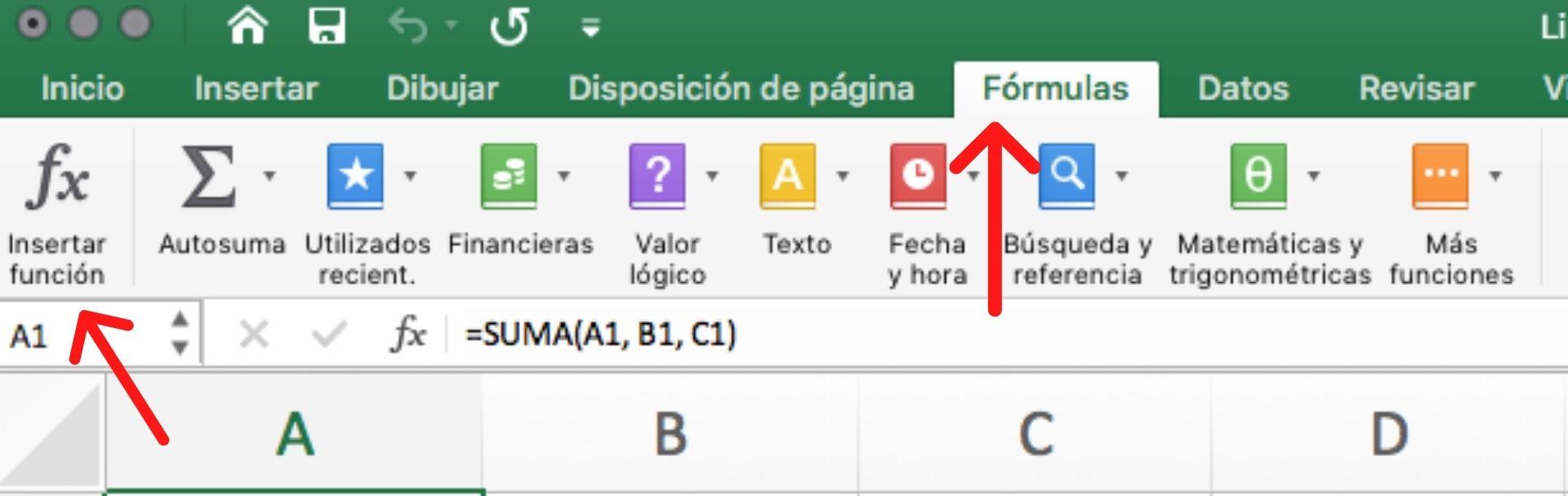 Insertar función para resolver uno de los tipos de errores comunes en Excel