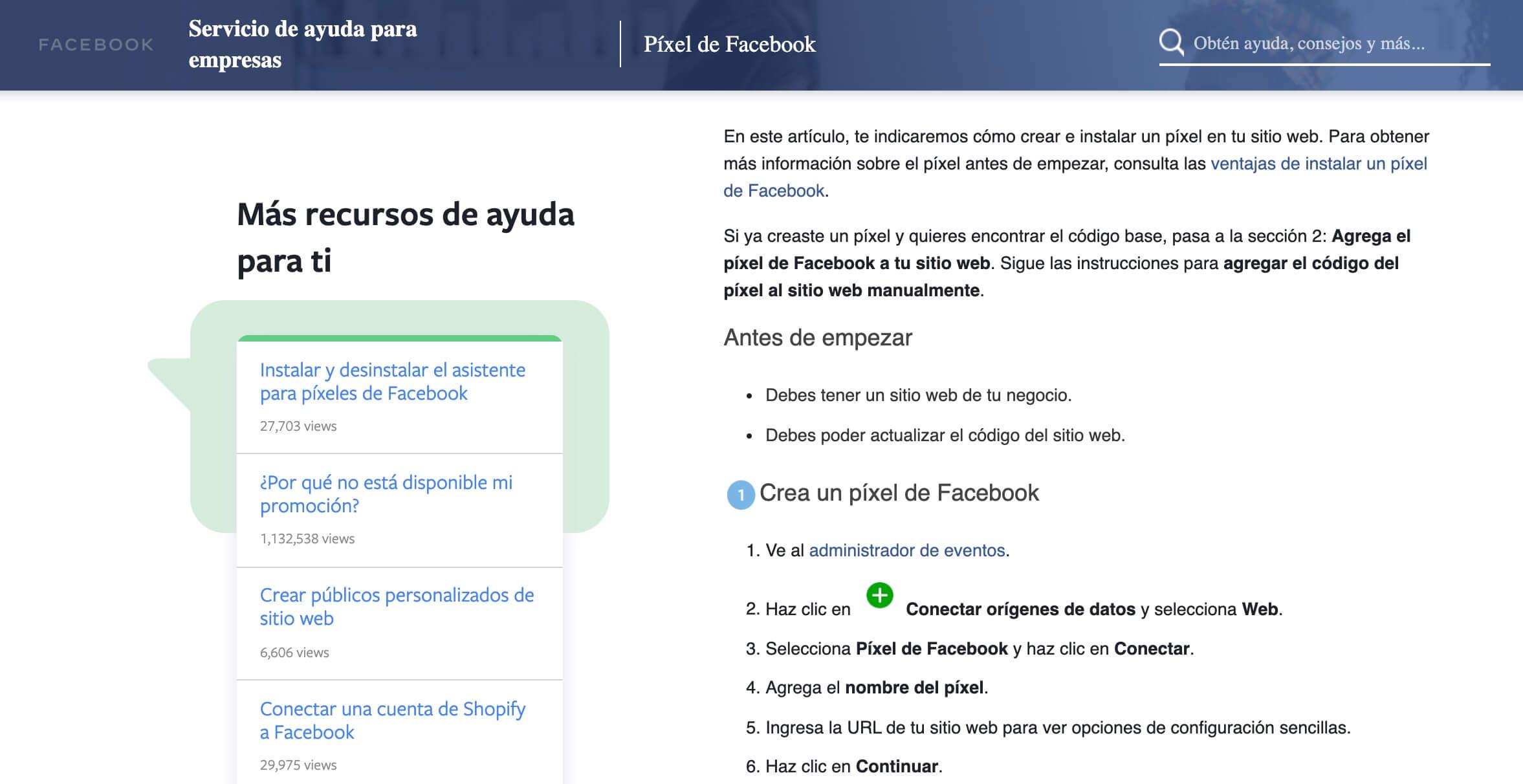 Pixel de Facebook, herramienta de análisis de publicidad de Facebook
