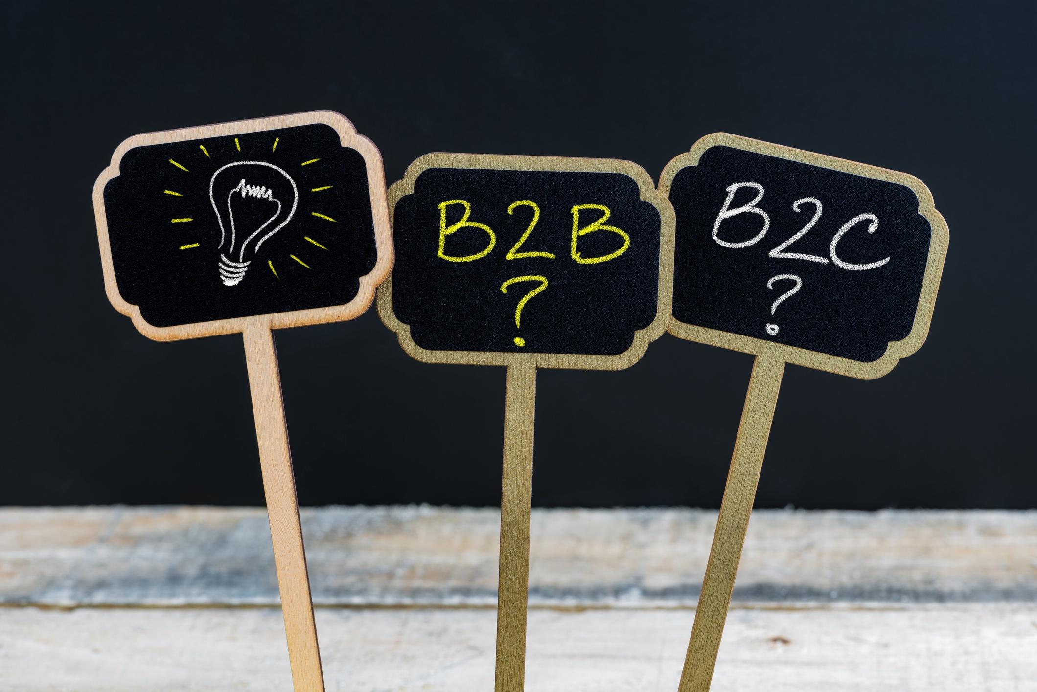 10Diferencias entre el marketing B2B y B2C