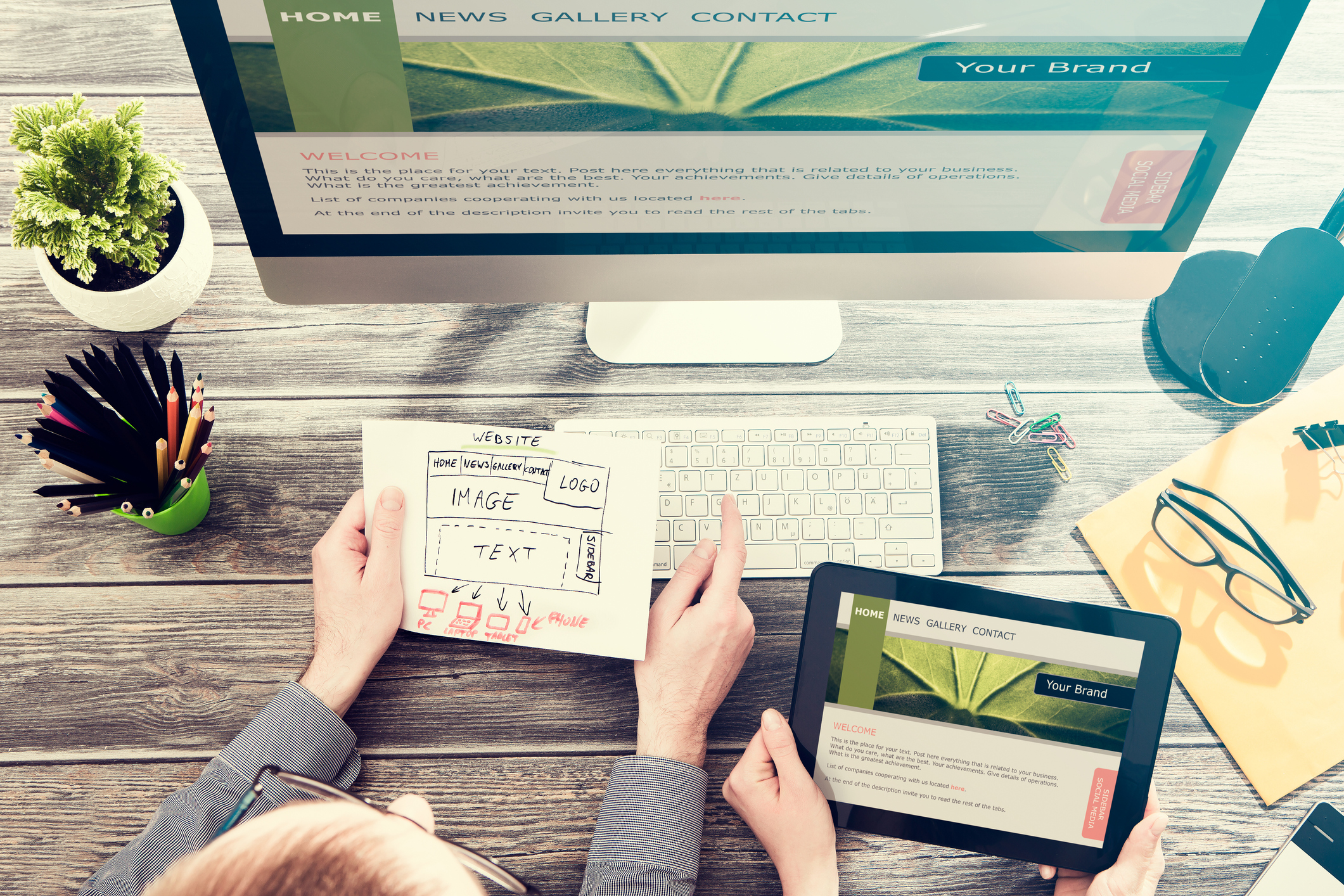 Inspiración para el diseño de tu página web