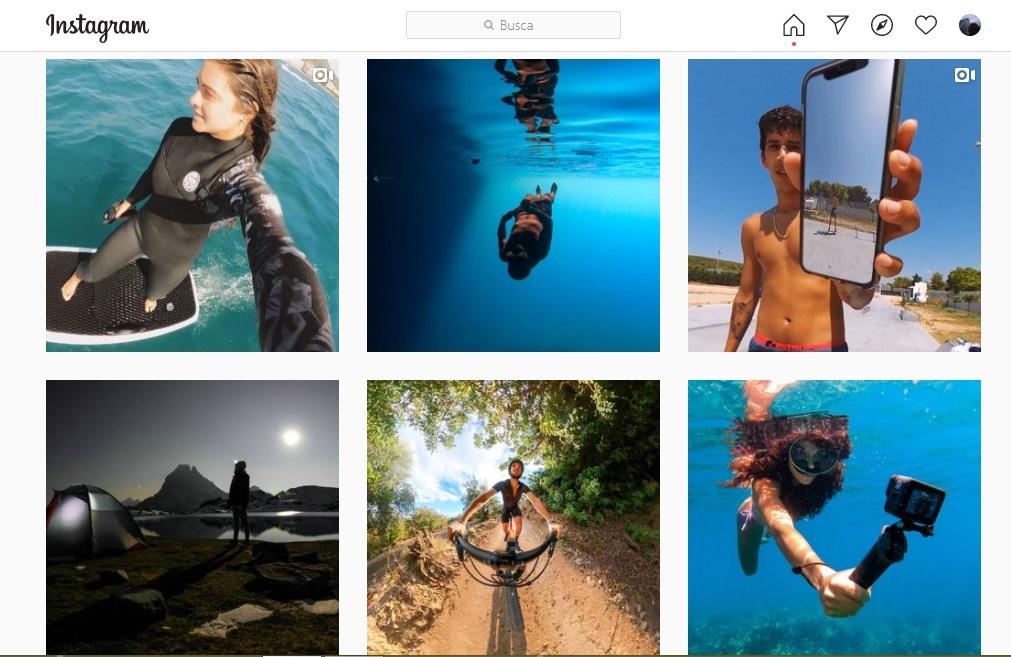 GoPro, ejemplo de contenido inteligente