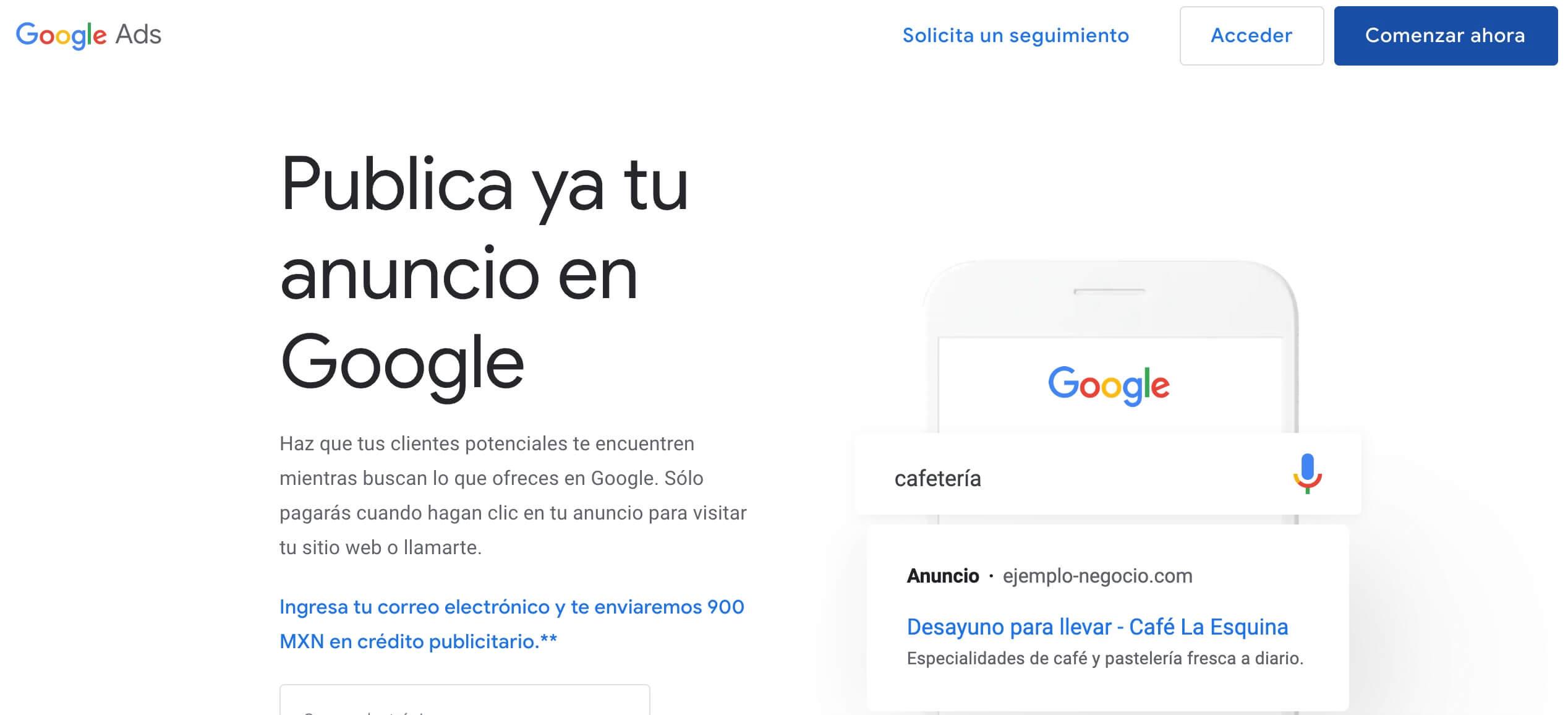 Herramientas de publicidad digital: Google Ads