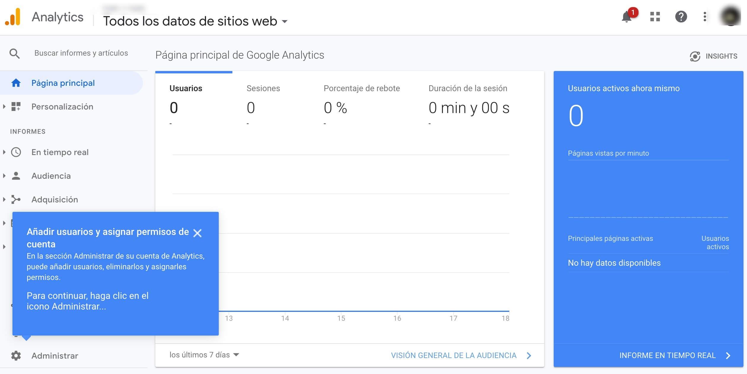Herramienta de publicidad digital: Google Analytics