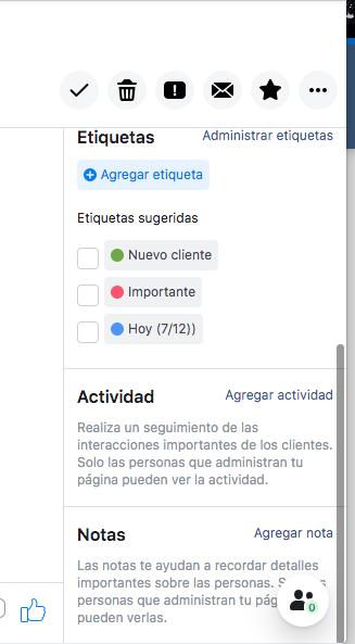 Herramienta de mensajes de Facebook disponible para empresas
