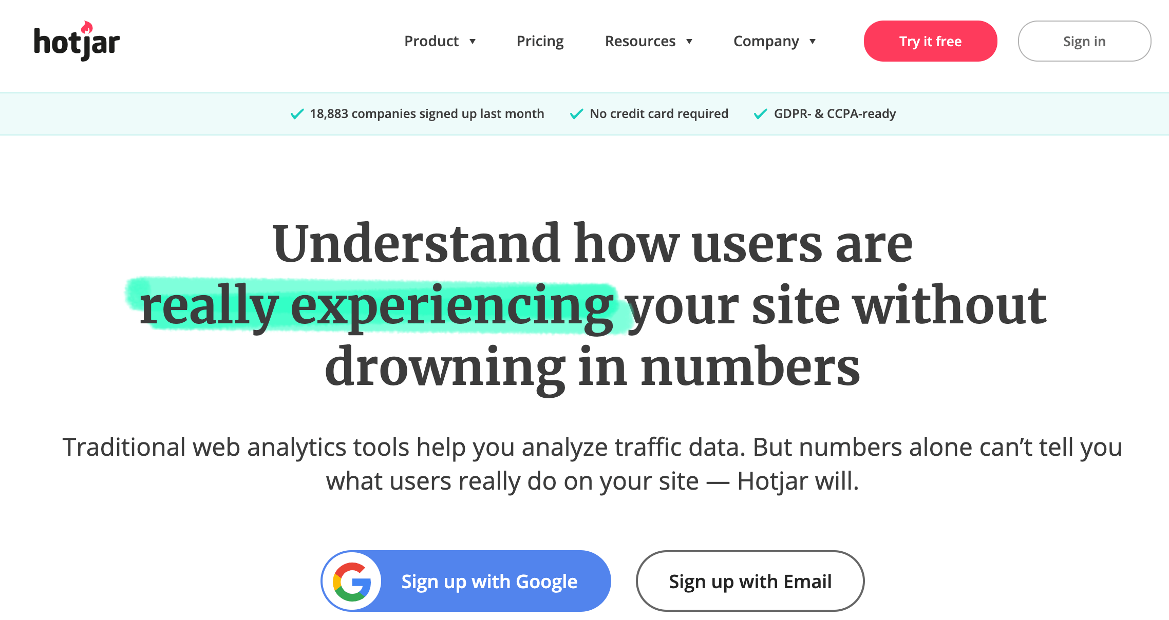 Hotjar: herramienta para conocer el comportamiento de usuarios en tu sitio
