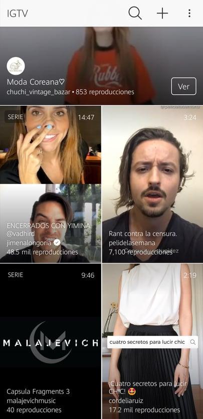IGTV para tu marketing en Instagram
