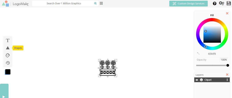 Creador logos gratuito LogoMakr