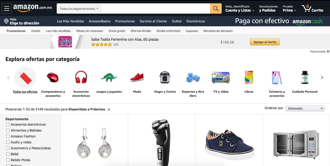 Los mejores marketplaces: Amazon Prime