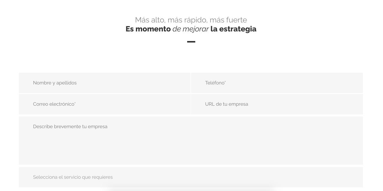 Ejemplo de páginas de contacto: Octopus.mx