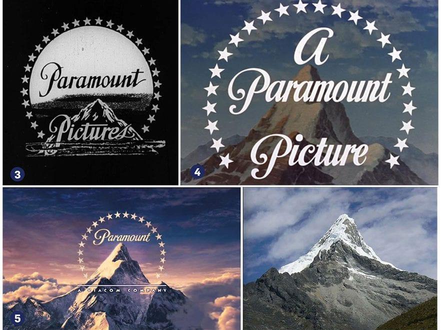 Logotipo vintage de Paramount Pictures