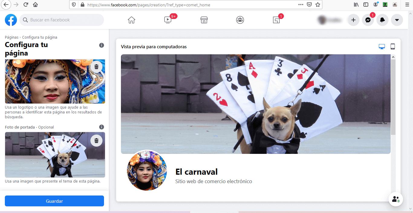 Cómo añadir foto de perfil y portada para páginas en Facebook