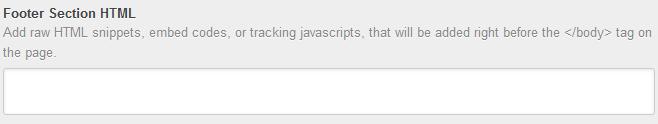 Pie de página en HubSpot