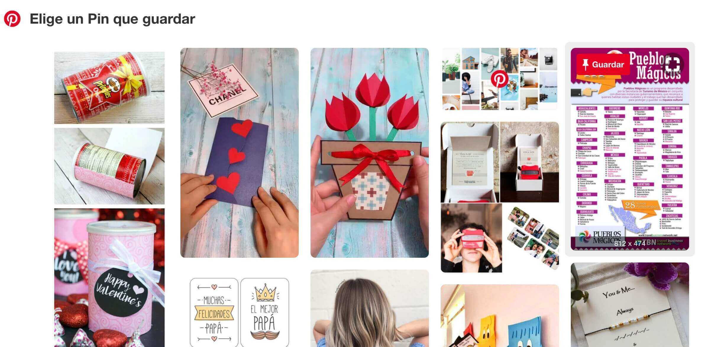 Pinterest Save Button, extensión para Google Chrome