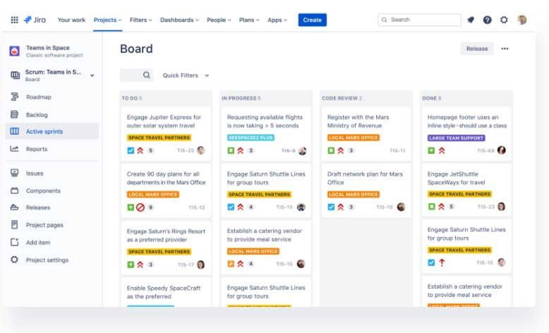 Planificador de proyectos: Jira Software