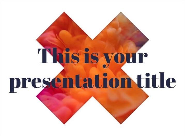 Lady Mortimer: plantilla gratuita creativa para PowerPoint