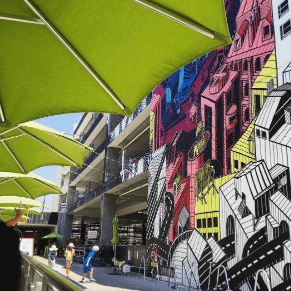 Ambiente urbano en el Instagram de la agencia Salted Stone