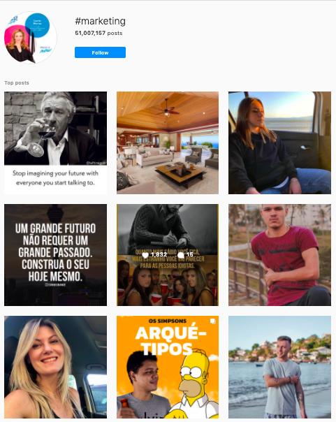 Cómo buscar hashtags en Instagram