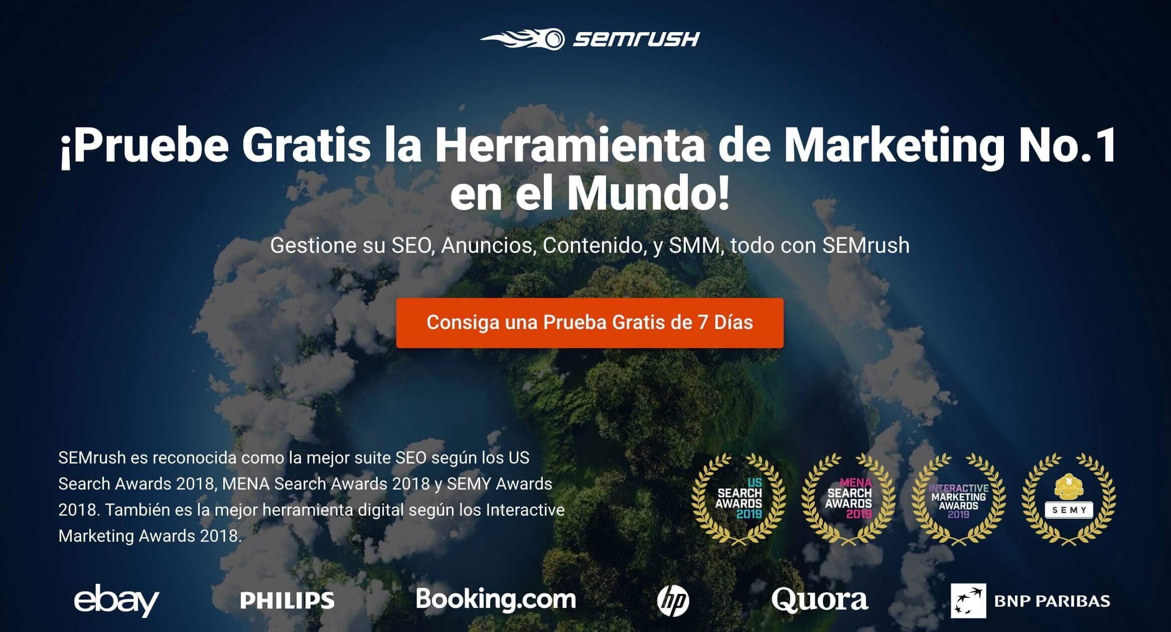 SEMrush: herramienta SEO para publicidad digital