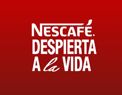 Slogan Nescafé Despierta a la vida