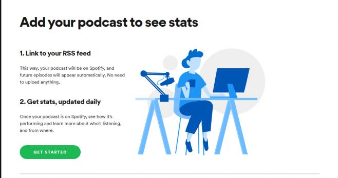 Cómo iniciar un podcast en Spotify: configuración