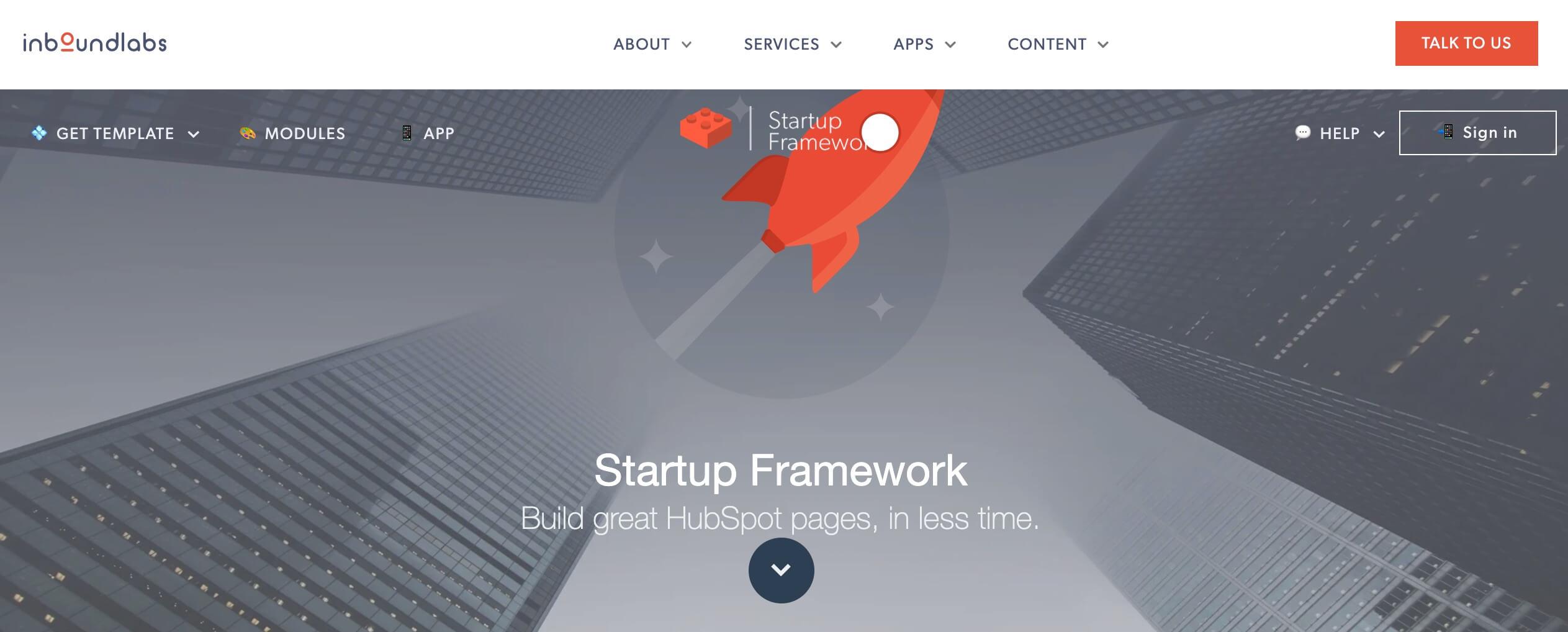 Startup Framework, tema responsive gratuito