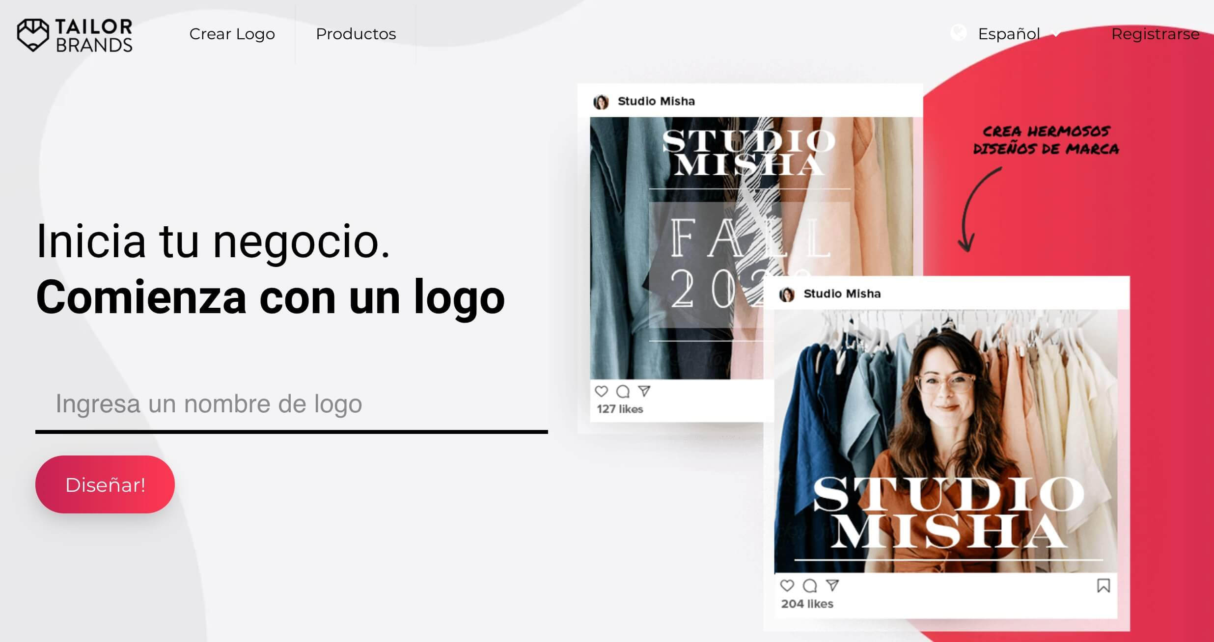 Creador de logos Tailorbrands