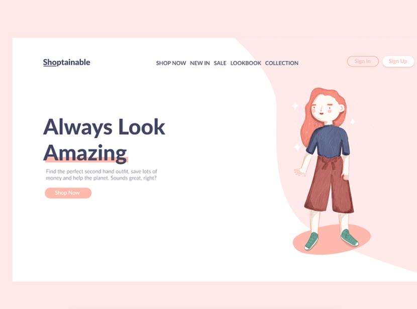 Tendencias de diseño web en 2021: ilustraciones