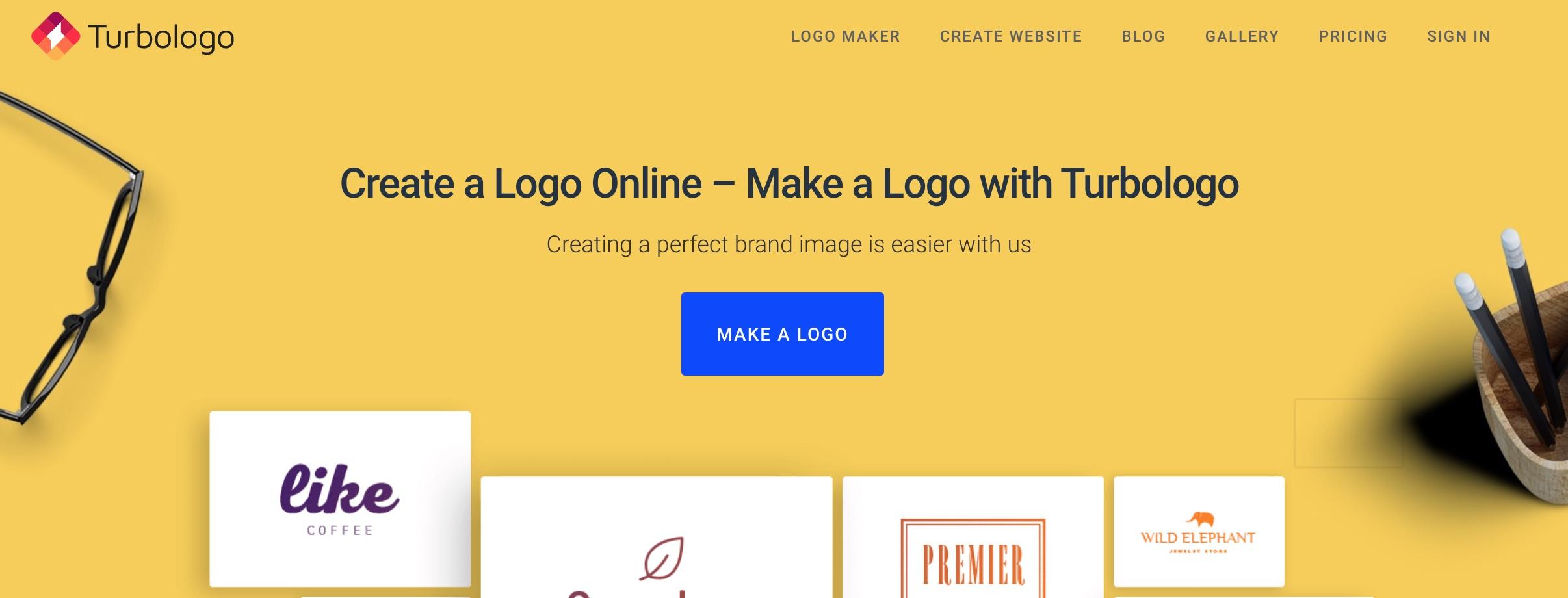 Turbologo, creador de logotipos