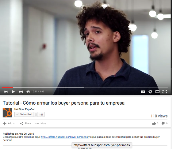 Youtube-HubSpot-Espanol