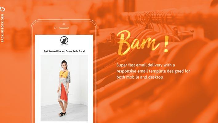 Back In Stock - Restock Alerts, aplicación para notificar sobre reabastecimiento de productos para tiendas de Shopify