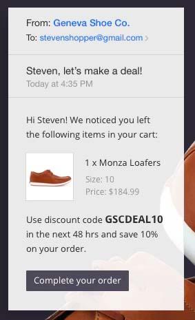 BigCommerce, software para reducir el abandono del carrito de compra