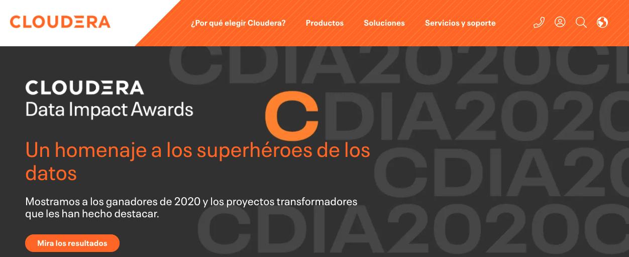 Herramienta de big data para una empresa: Cloudera