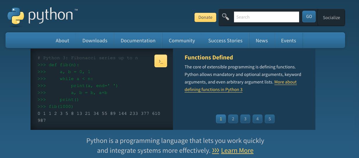 Herramienta de big data para una empresa: Python