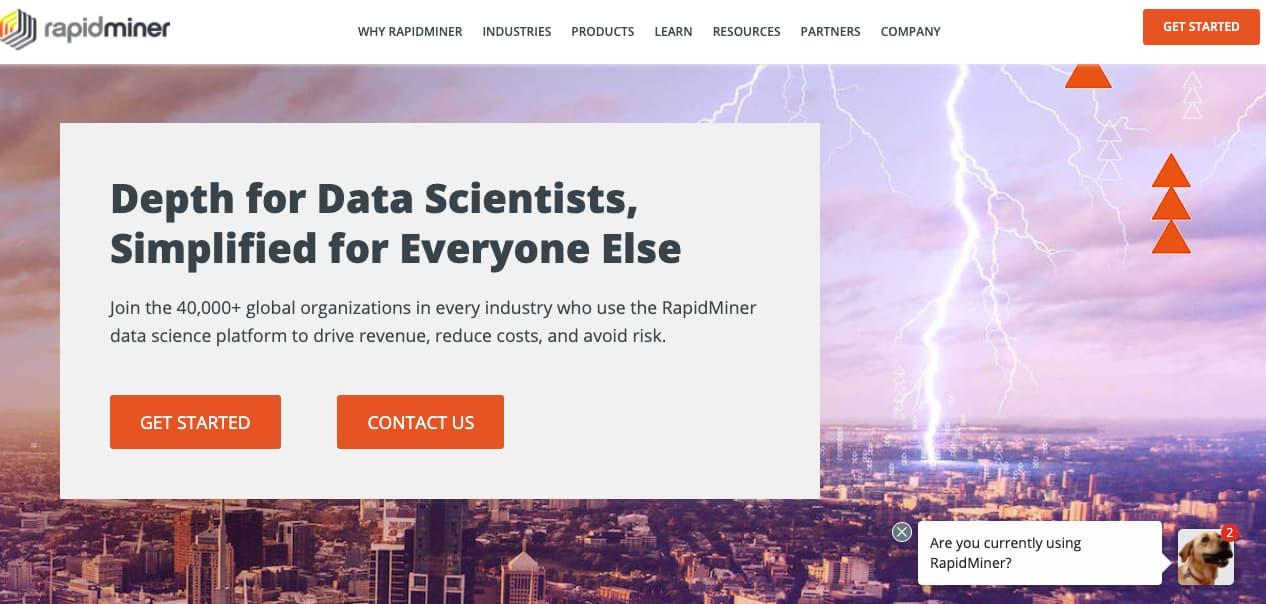 Herramienta de big data para una empresa: RapidMiner
