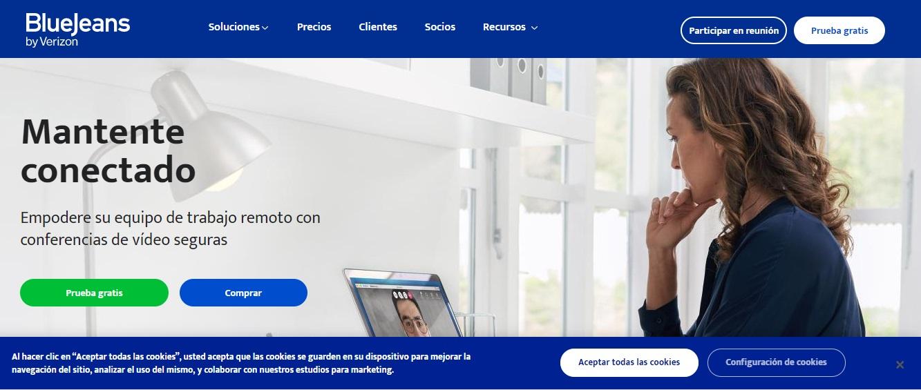 BlueJeans, software para reuniones en línea