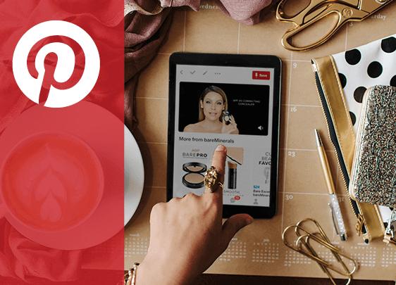 Blog de Pinterest Business hecho con Drupal, página para crear blogs