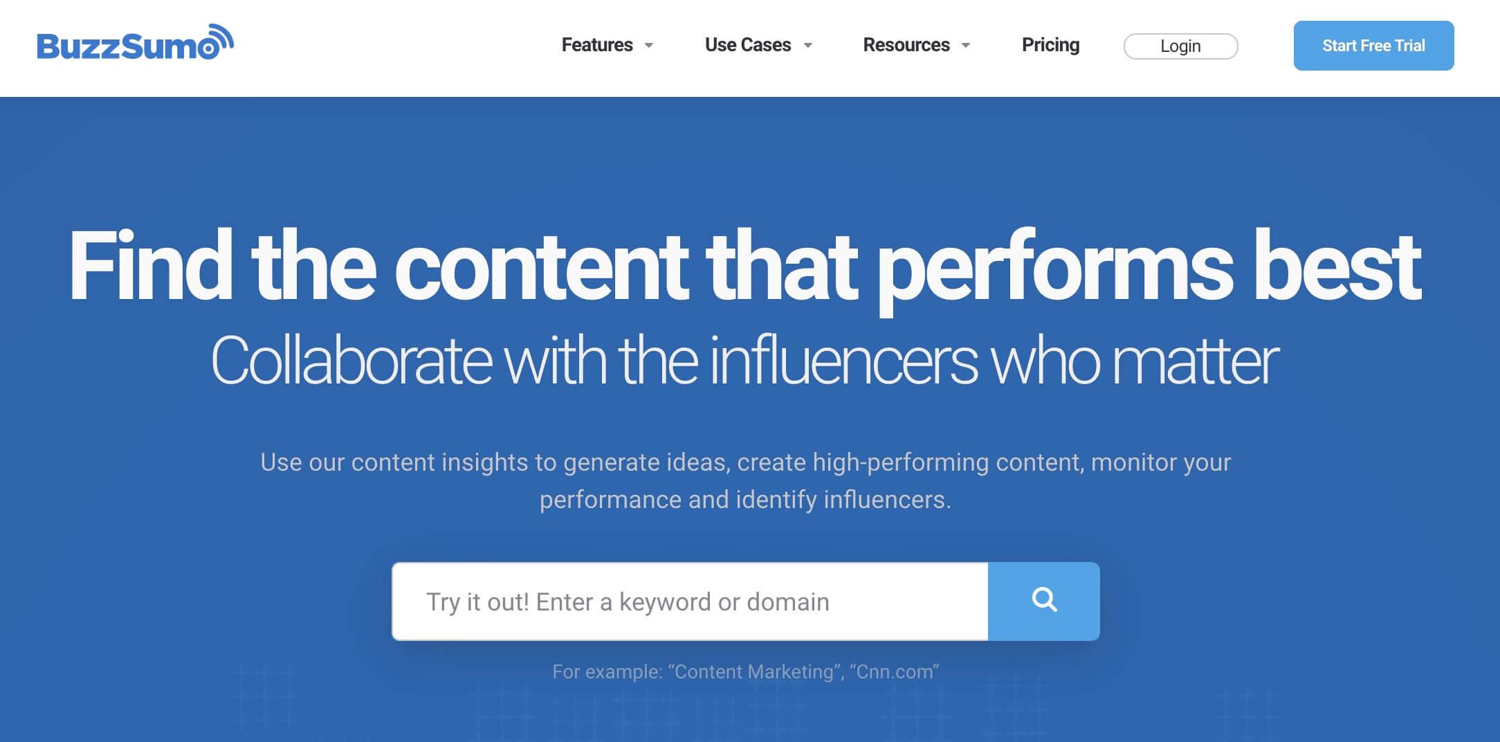 Herramientas para crear publicidad digital: BuzzSumo, herramienta para análisis y selección de contenido en redes sociales