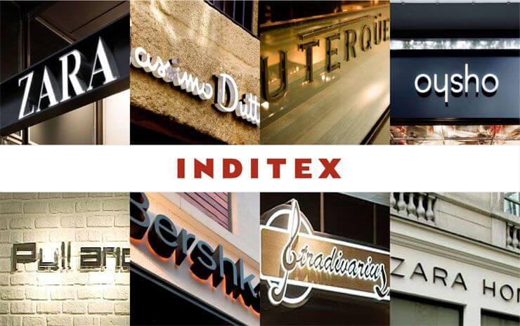 Canales de distribución de Inditex