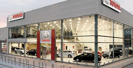 Canales de distribución de Toyota