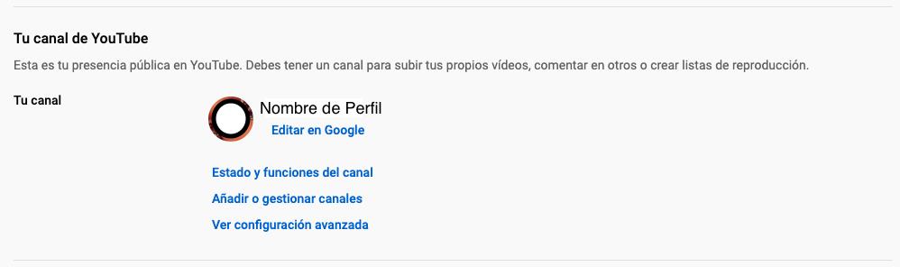 Características de YouTube para personalizar el URL