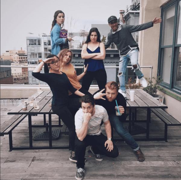 Ejemplo de la agencia creativa Carrot: equipo