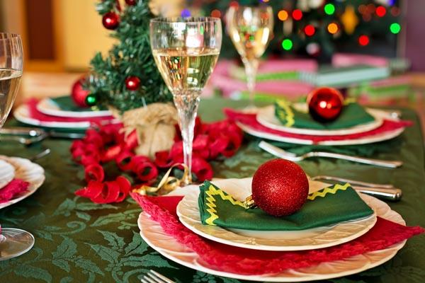 Dinámica navideña: cena