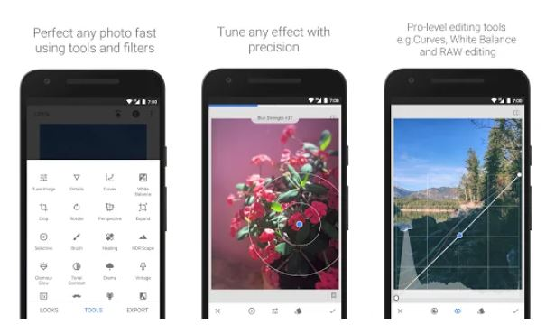 Apps para community managers: Snapseed