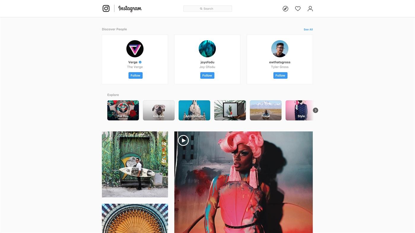 Inicio de sesión en Instagram para subir fotos