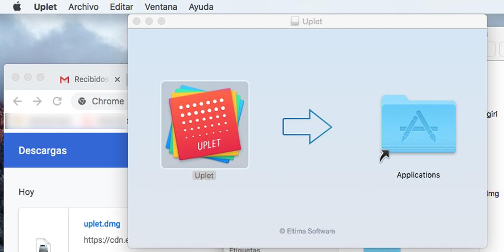 Uplet, programa para subir fotos y videos a Instagram desde Mac