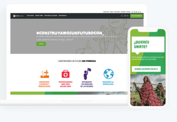 Blog hecho con la página para creación de blog: HubSpot CMS