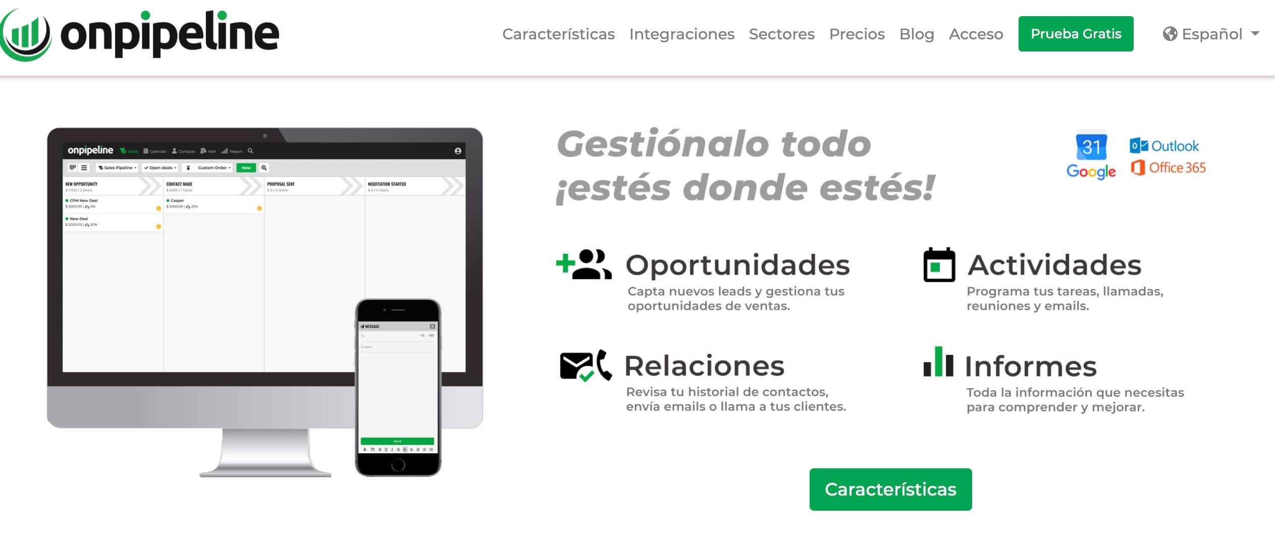 Onpipeline, CRM para PYMES