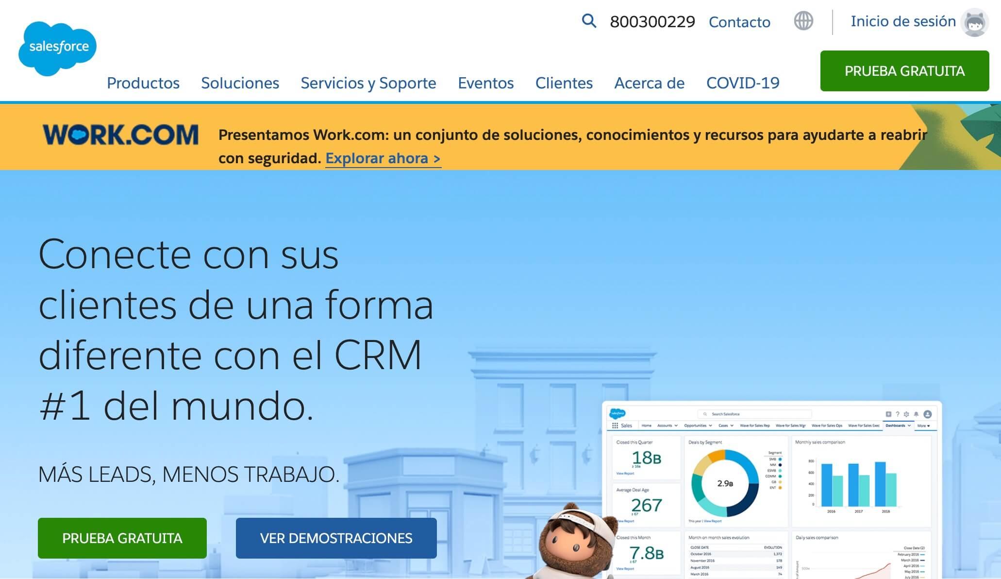 Salesforece, CRM para PYMES