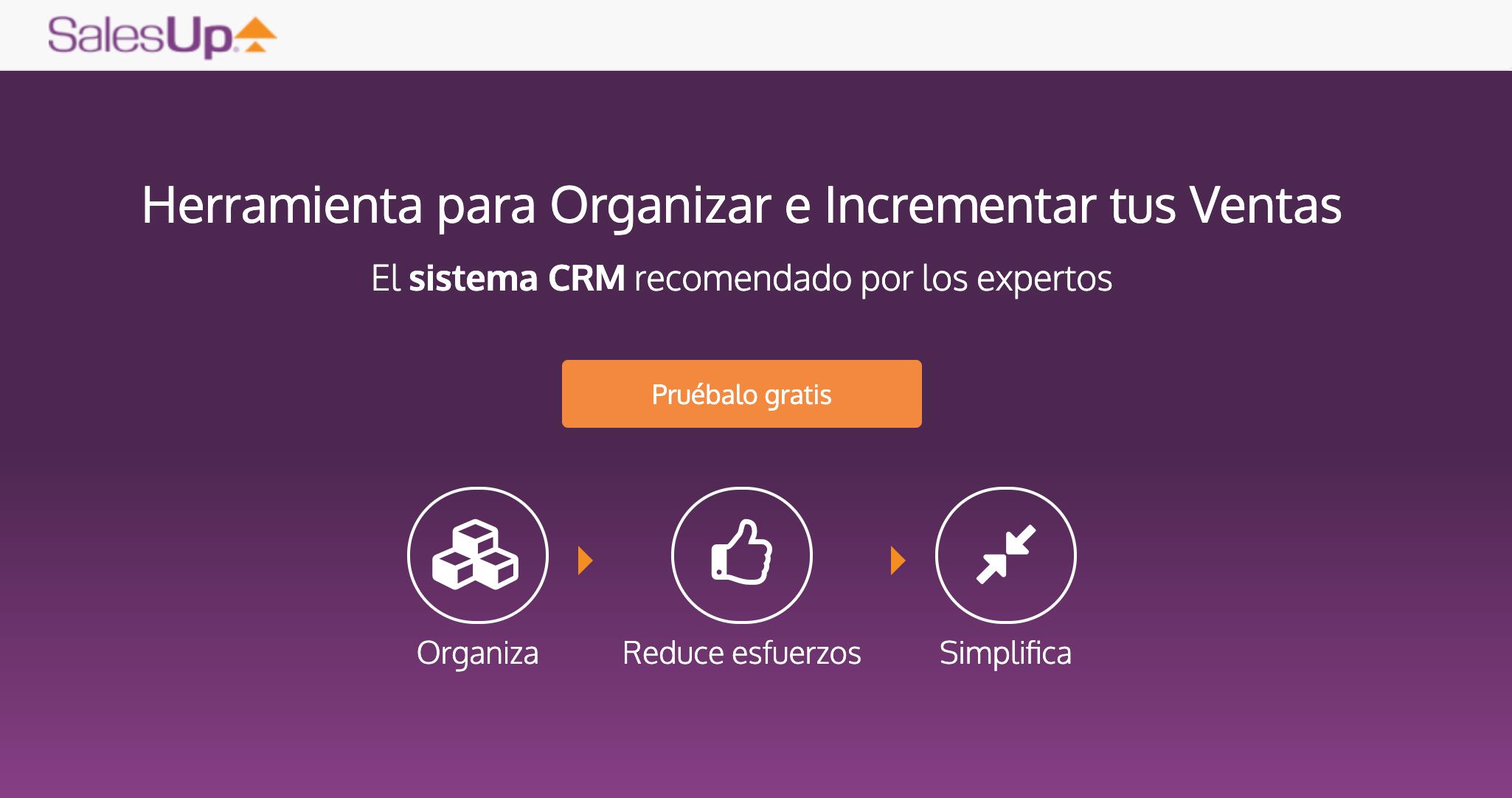 Salesup, CRM para PYMES